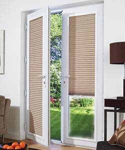 Perfect fit blinds zodiac interiors for Blinds for upvc patio doors